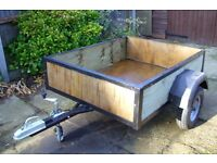 5x4ft Trailer As new