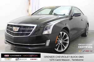 2015 Cadillac ATS COUPE AWD Turbo *GPS + CUIR + TOIT OUVRANT*