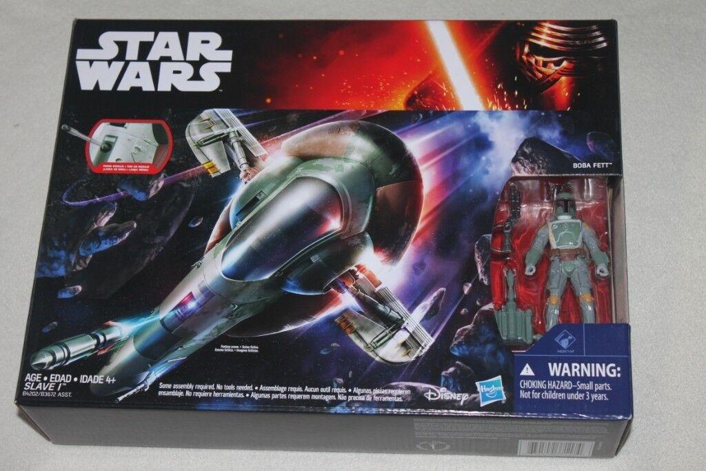 Star Wars The Empire Strikes Back Boba Fett Slave I 1 Ship