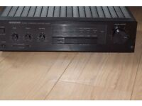 KENWOOD KA-57 STEREO AMP AUX IN 200W CAN BE SEEN WORKING