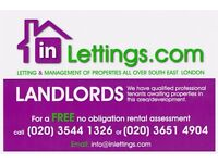 Landlords Wanted For Vetted Waiting Tenants In South East London
