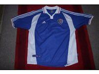 Yugoslavia football shirt by Adidas