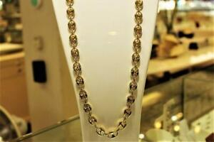 Gucci style chain in 10kt yellow 28 inches 12.25mm Québec Preview