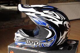 AGV AX-6 Motocross Helmet Sz M