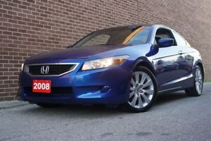 2008 Honda Accord EX-L, Coupe, Leather, Sunroof, Alloy