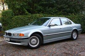 1999 BMW E38 740I 7 SERIES - GLACIER GREEN - BIG SPEC - LOW MILEAGE