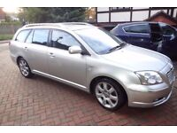 Toyota Avensis Estate T Spirit 2.0 VVTI Automatic Low Mileage Well Maintained Genuine Private Sale