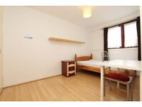 DOUBLE ROOM TO RENT IN CANARY WHARD -- NO DEPOSIT -- (17 SALFORD C)