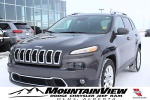 2016 Jeep Cherokee Limited TECH GROUP! EXT WARRANTY!