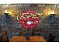Coffehouse Supervisor - Full-time - Constitution Bar - Shore Area Leith