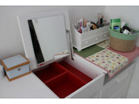IIKEA Dressing table + chest of 2 drawers - Urgent! (£25 for each, £40 for both. RRP £110))