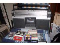 Vintage Ferguson 3 Band Stereo radio Cassette
