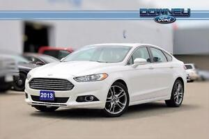 2013 Ford Fusion TITANIUM Park assist - Leather interior - Touch