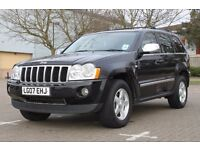 Jeep Grand Cherokee. 3.0CRD, 07 plate, black