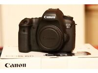 Canon 6D excellent condition and warranty