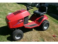 "Toro Ride on mower 38"" cut 16hp needs repair to cutter deck or replacement"