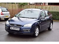 2006 FORD FOCUS SPORT 1.6 PETROL*3 MONTHS WARRANTY*SERVICE HISTORY*ALLOYS*NEW MOT AND SERVICE*