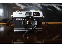 Canon Canonet QL19 vintage film camera