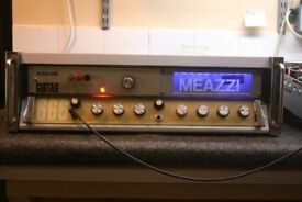 VINTAGE MEAZZI 666 AMP / ECHO Solid State Amp Fully Re-furbished