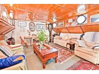 Unique house boat for sale in London