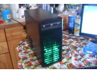 Gaming PC Quad Core A8-5600K 3.6GHz 4GB RAM 250GB HDD Win 10