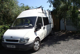 Ford Transit, LWB High, Roof 6 seater
