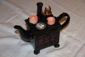Sunshine Ceramics Range Cooker Decorative Tea Pot