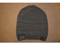 BNWT mens grey hat by CEDAR WOOD STATE one size