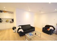 A 1 bedroom furnished loft style apartment, warehouse conversion, on canal, walk to Canary Wharf
