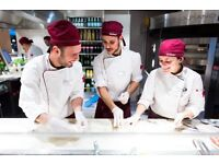 Vapiano London Bridge-Kitchen Assistants and Front of House(Service, Bar)-No Experience necessary