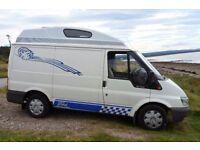 ford transit campervan s.w.b high top £2700