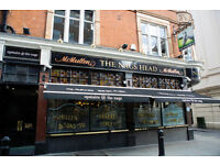 Full Time Chef - Up to £9.00 per hour - Nag's Head - Covent Garden, London
