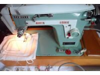 new home model 532 electric sewing machine