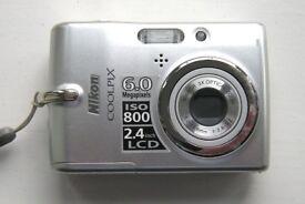 Nikon Coolpix L11 digital camera.