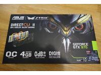 ASUS GTX 970 STRIX OC USED (STILL AVAILIABLE)