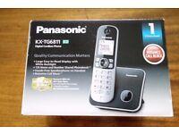 Panasonic Cordless Phone (Digital - DECT, Hands Free Functionality) BOXED UNUSED