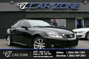2012 Lexus IS 350 AWD, NAVI, TOUCHSCREEN, LOADED
