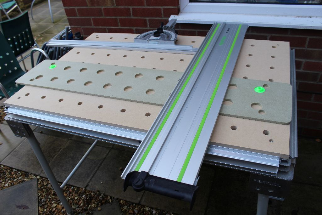 Festool Mft 3 Multi Function Table With Replacement Top
