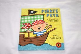 Pirate Pete (A change-the-story book) by Nick Sharratt