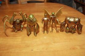 Ben 10 Figures - Gold Editions