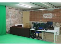 Premium VR Recording Studio Including Equipment 80 m^2 (850 SqFt) for Sublet or Purchase