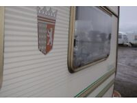 Touring Caravan Moderate Condition Spares and Repairs Only Minor Fixes - Pickup Only