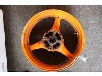 Honda CBR 1000rr ABS rear wheel Repsol