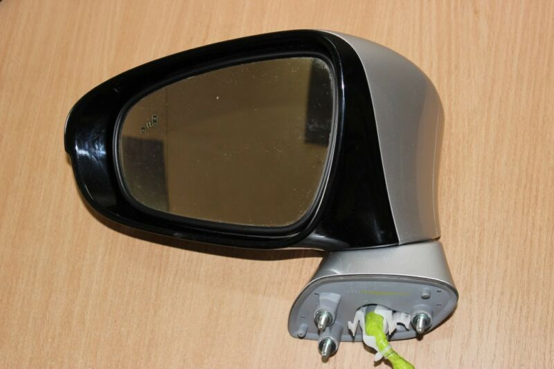 2013 LEXUS GS 450H GWL10 / COMPLETE L SIDE WING MIRROR WITH BLIND SPOT INDICATOR