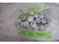Slazenger golf balls - good conditon