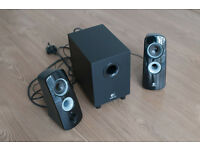 Logitech Z323 2.1 Speaker system with subwoofer