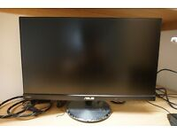Asus VC239H 23-Inch Full HD IPS LCD Monitor - 16:9, 1920 x 1080, 5 ms, VGA/HDMI/DVI