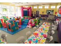 Softplay Cafe Sunday party staff wanted