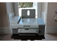 as new lexmark printer and scanner with A4 glossy photo paper,lexmark premium photo paper, manuals.