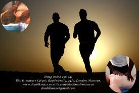 Black Mature Professional Gay-Friendly 24/7 London Massage